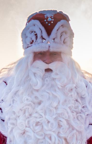 К Челябинску приближается зимний волшебник из Великого Устюга. По стране Дедушка Мороз перемещает