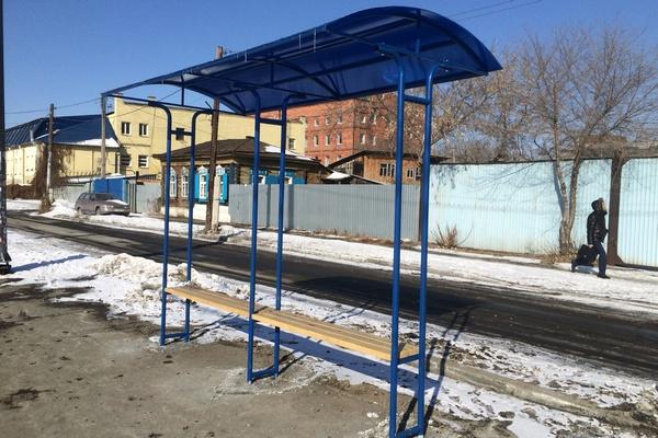 Остановки были изготовлены за решеткой в рамках реализации муниципальной программы «Формирование