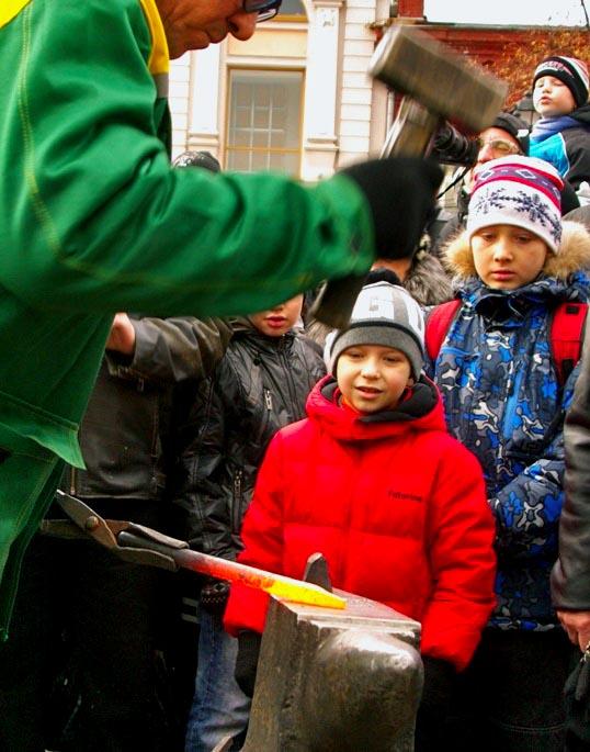 Торжества были приурочены к 400-летию изгнания из России интервентов силами народного ополчения п