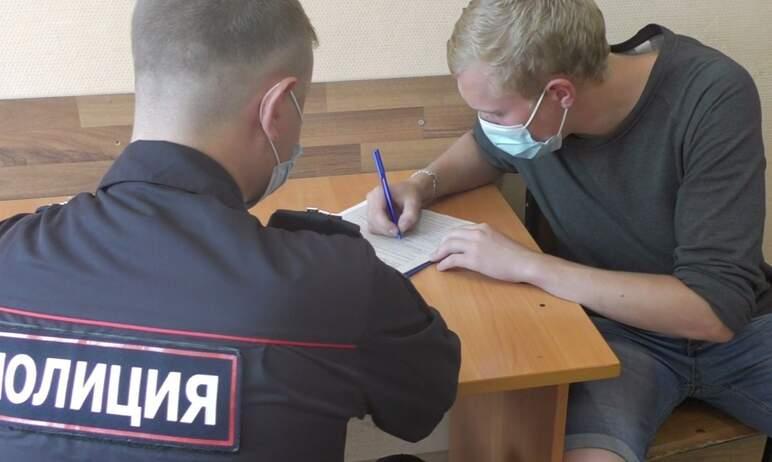 Челябинские полицейские задержали двух местных жителей, которые, находясь в состоянии алкогольног