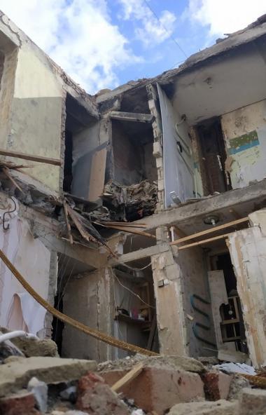 Чудом спасенный из-под завалов многоквартирного дома в Магнитогорске (Челябинская область) Ваня Ф