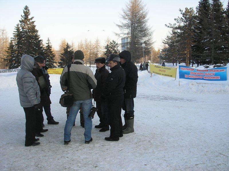 Напомним, что прошлогодняя проверка Облохотрыболовсоюза выявила нарушения в Александровском, Вехн