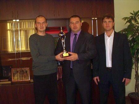 Как сообщает пресс-служба районной администрации, среди приглашенных был серебряный призер по шах