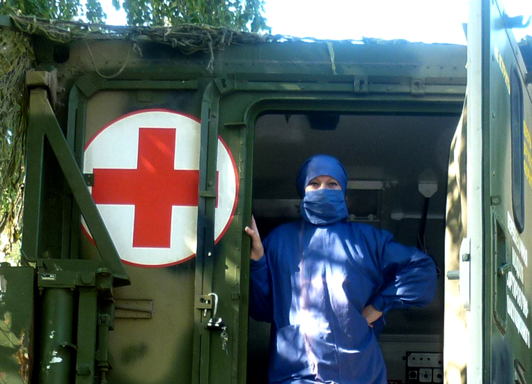 В составе отряда четыре функциональных отделения: эвакуационное, хирургическое, терапевтическое и