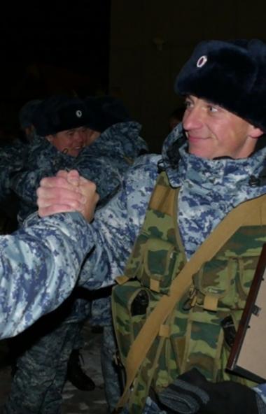 Сегодня ночью, 19 ноября, на железнодорожном вокзале Челябинска состоялась торжественная встреча