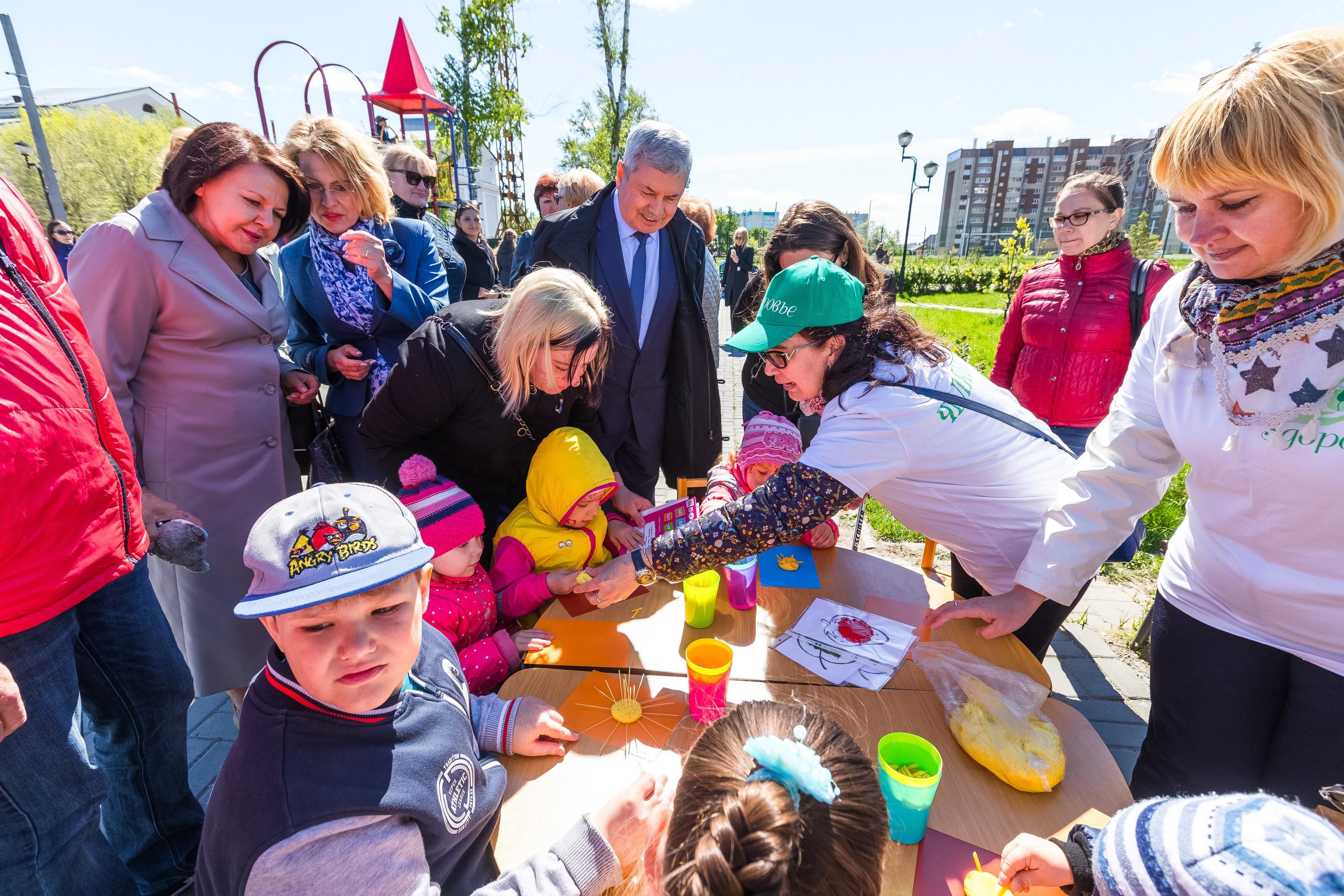 Председатель Законодательного собрания Челябинской области Владимир Мякуш принял участие в праздн