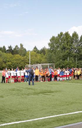 Отборочный этап Всероссийского фестиваля детского дворового футбола «6х6» прошел в Челябинске в р