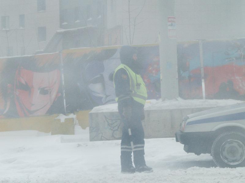 На пересечении с улицей Краснознаменной столкнулись три автомобиля, причем все три – иномарки. Чу
