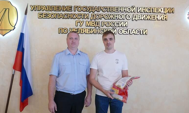 В Чебаркуле (Челябинская область) мужчина с маленьким сыном помог задержать пьяного водители и та