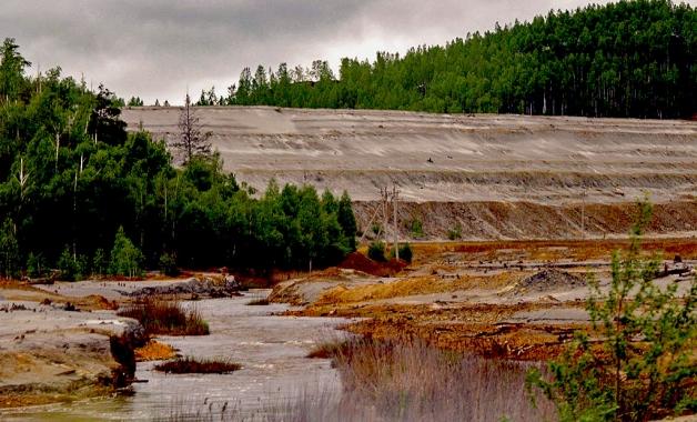 В Карабаше (Челябинской области) в этом году поменяют русло городской реки Сакалга. Местных жител