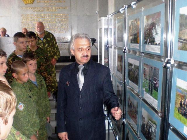 Фотовыставка посвящена пятилетию создания Национального антитеррористического комитета (НАК) Р