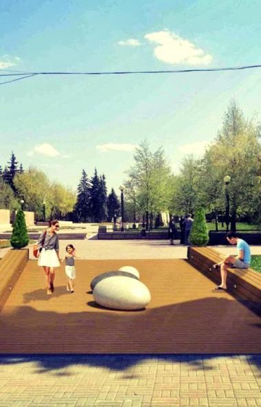 В Челябинске Кировку и Аллею Славы соединит зона отдыха. Архитекторы города уже придумали, как эт