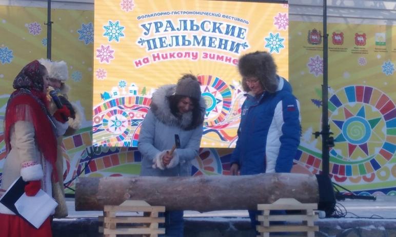В Челябинске в парке имени Гагарина в минувшую субботу, 12 декабря, принимал гостей IX фольклорно