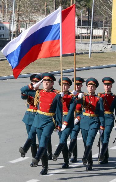 На территории Центрального военного округа парад в ознаменование 75-й годовщины Победы в Великой