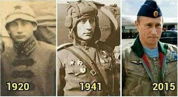 Сотрудники газеты отыскали фотографии 1920 и 1941 годов, на которых изображены люди, подозрительн