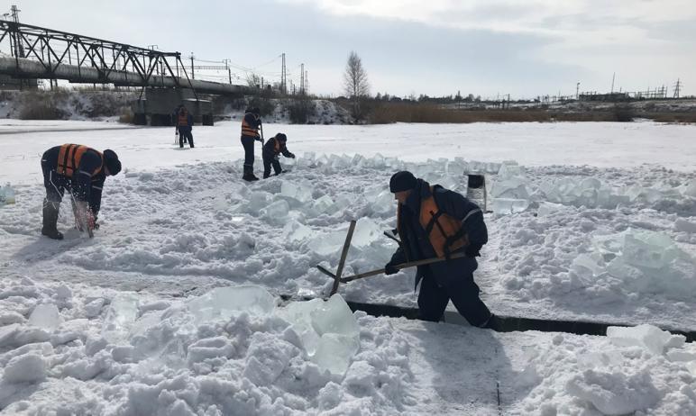 В Челябинской области военные проведут подрывы льда на трех реках. Это сделают для того, чтобы пр
