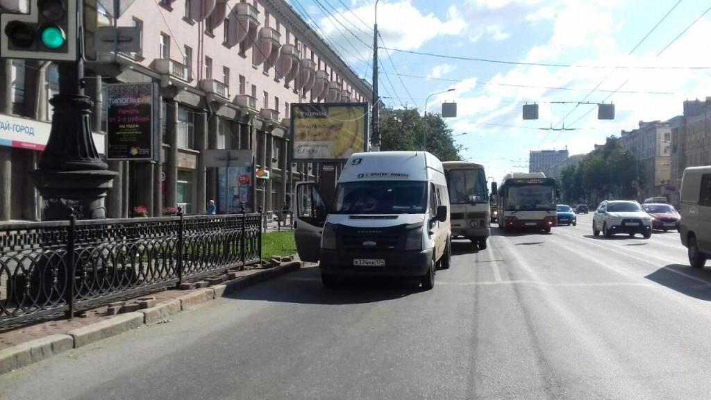 Дорожно-транспортное происшествие с участием общественного транспорта произошло вчера, 7 августа,