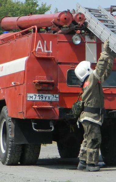 В Златоусте (Челябинская область) горит официально закрытая с первого января 2020-го года свалка.