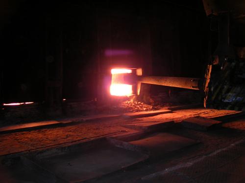 Это обусловлено новой политикой предприятия, предусматривающей закупку большей части стальной заг