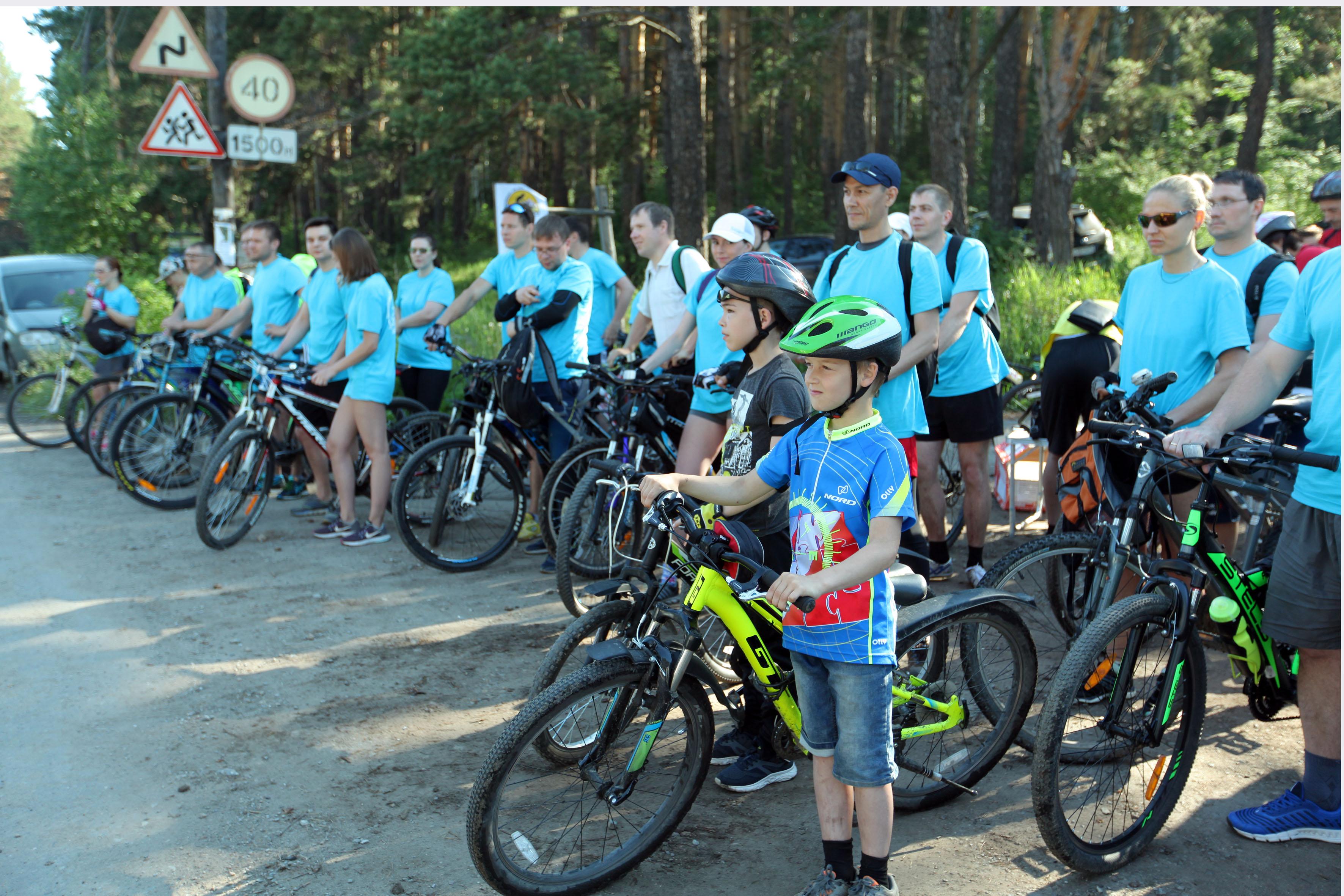 Ежегодный велопробег вокруг озера Тургояк состоялся в рамках Спартакиады ГРЦ-2018 первого июля в