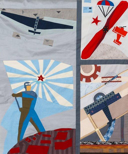 Советское искусство не перестает быть популярным. Сегодня оно вдохновляет многих художников, диза