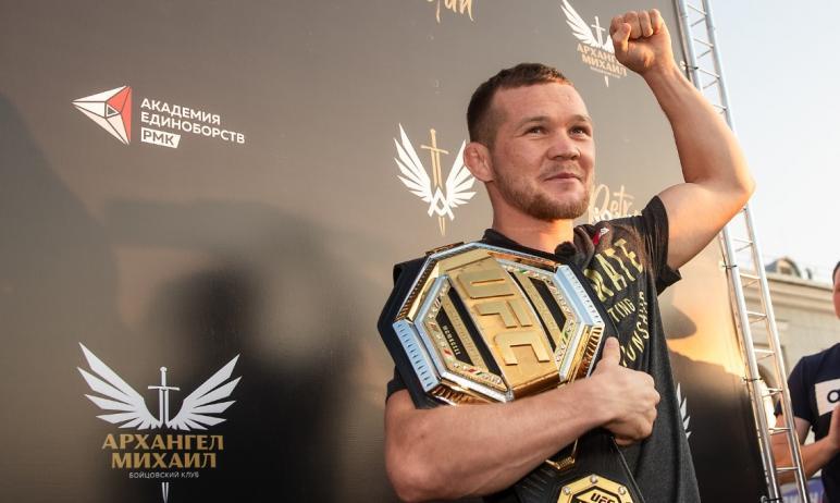 В субботу, 10 апреля, Пётр Ян из Академии единоборств РМК - первый номер рейтинга UFC в легчайшем