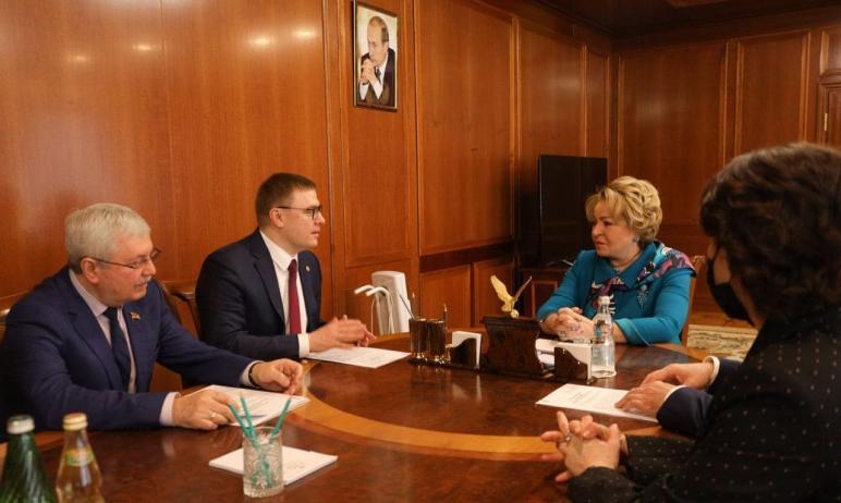 Председатель Совета Федерации ФС РФ Валентина Матвиенко раскритиковала Челябинск