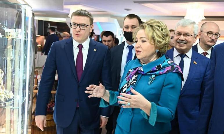 Председатель Совета Федерации Валентина Матвиенко провела рабочую встречу с губернатором Челябинс
