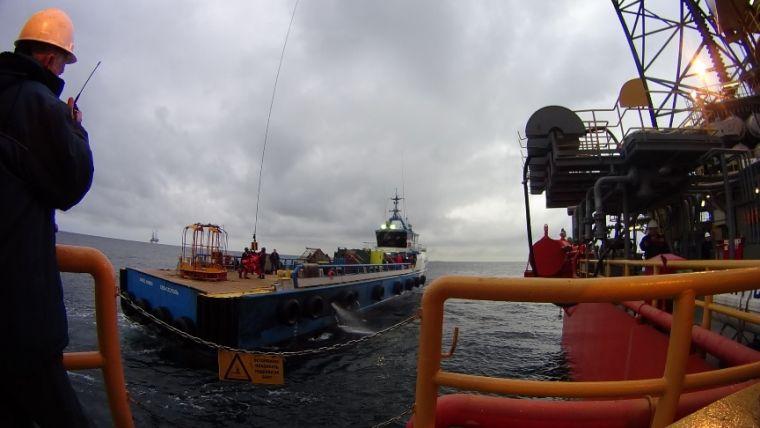 Как сообщает ГУП РК «Черноморнефтегаз», успешно осуществлена перестановка буровых с Одесского газ