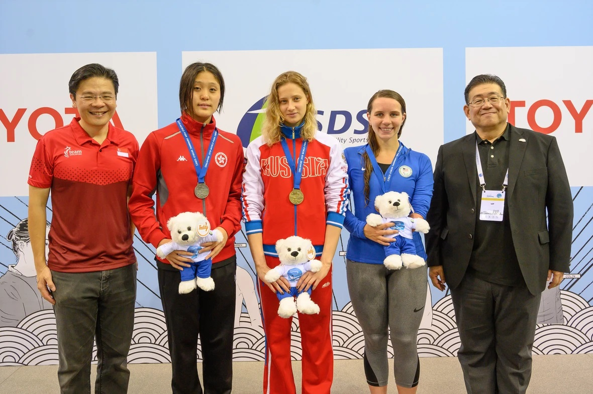 Челябинская спортсменка Валерия Шабалина завоевала четыре медали мировой серии по плаванию ЛИН, в