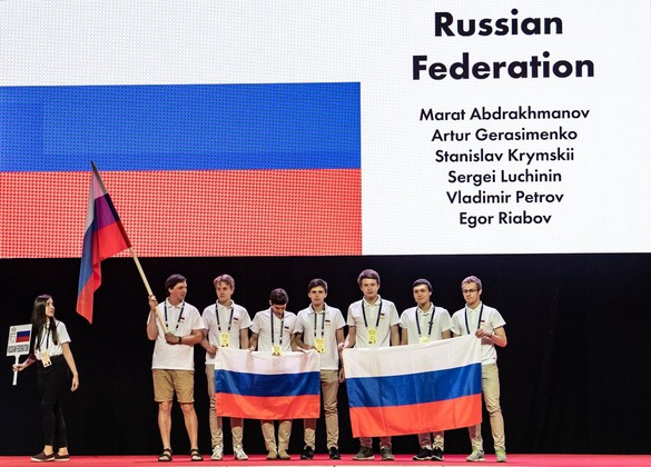 Выпускник челябинского лицея №31 Марат Абдрахманов завоевал золотую медаль в составе российской с