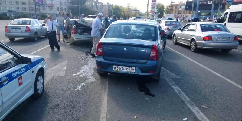 Авария произошла 27 августа в 15.00 на проспекте Победы, в районе дома 120. «