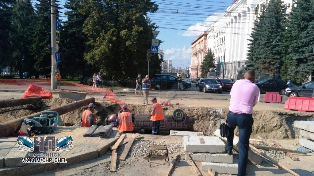 Инцидент произошел 20 июля на улице Тимирязева. Последствия сняли на видео очевидцы и выложили в