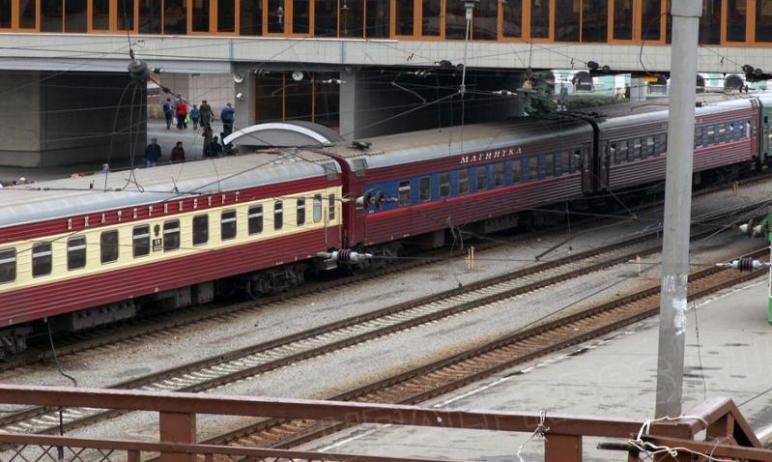В Челябинске транспортные полицейские сняли с поезда 14-летнюю девочку из Миасса, которая намерев