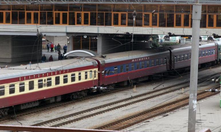 Фирменныйпоезд № 16/15 Москва – Екатеринбург будет курсировать до Челябинска вплоть до нача