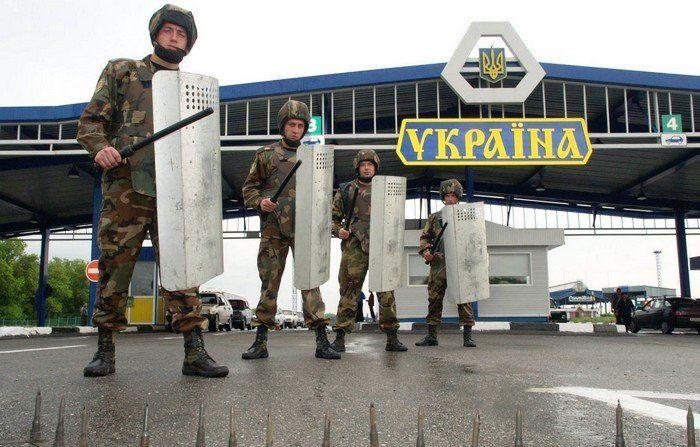 Еще вчера госпогранслужба Украины сообщала, что рядом с границей якобы находятся вооруженные авто