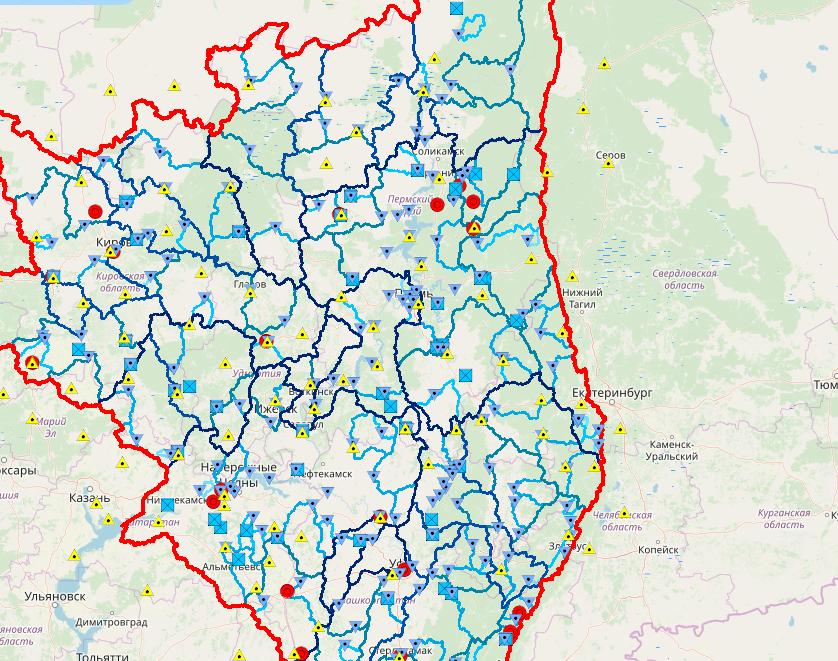Жители Челябинской области смогут следить за весенним паводком с помощью специальной карты.