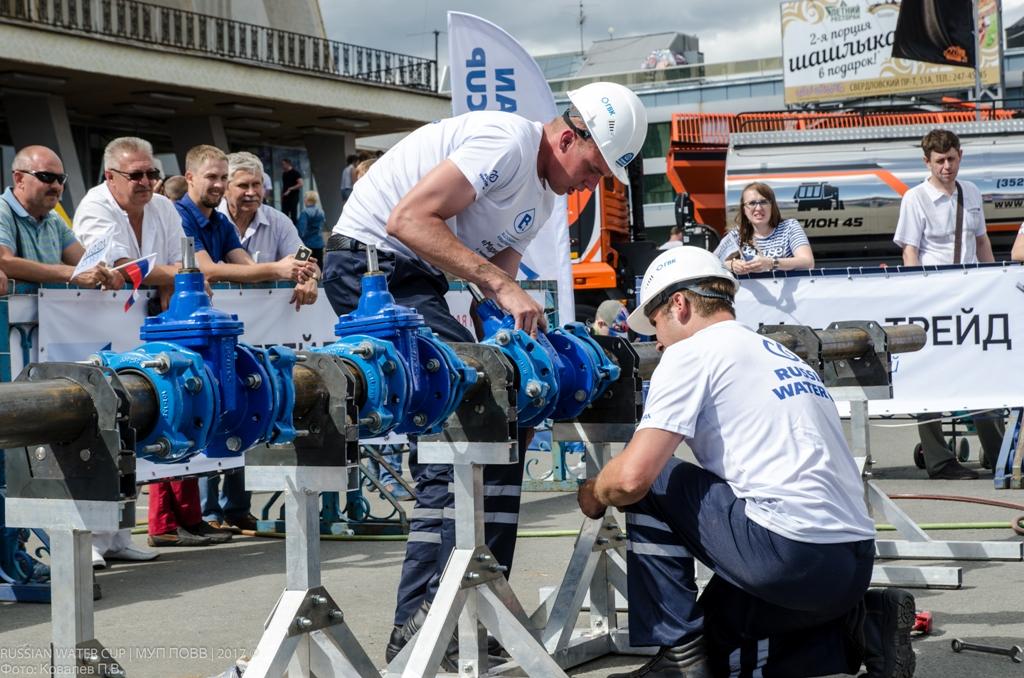 Первое заняла команда «Профи» Калининского РЭУ СП «Горводопровод». Это мастера Антон Тимкин и Але