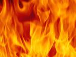Вчера, девятого мая, в 00 часов 55 минут на центральный пульт пожарной свя
