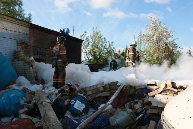 К месту вызова были направлены силы гарнизона ГУ «3 отряда федеральной противопожарной службы гла