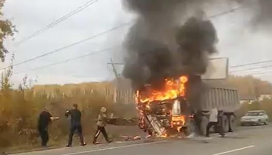 Первое возгорание произошло 5 октября на Свердловском проспекте. Вспыхнула BMW525.