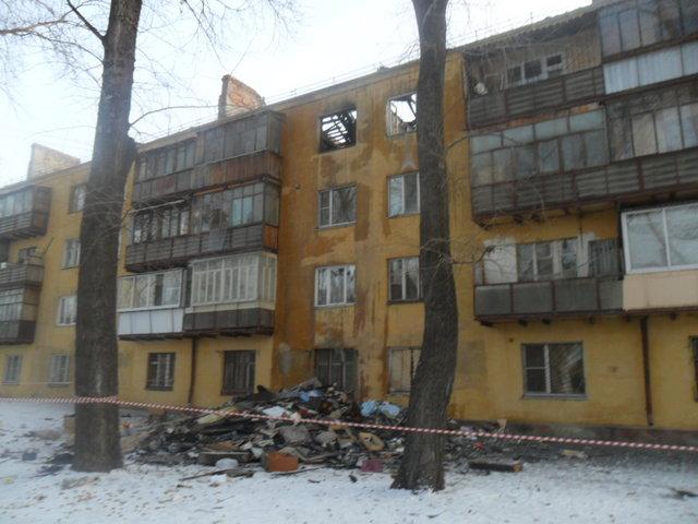 Как уже сообщало агентство, первого января огонь лишил крова жителей четырехэтажного дома по улиц
