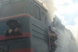 Как сообщили агентству «Урал-пресс-информ» в ГУ МЧС области, сообщение о возгорании тепловоза «2Т