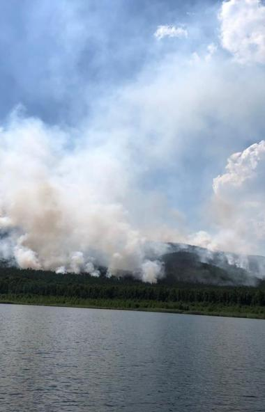 В Челябинской области длительная засуха привела к возобновлению лесных и ландшафтных пожаров рань