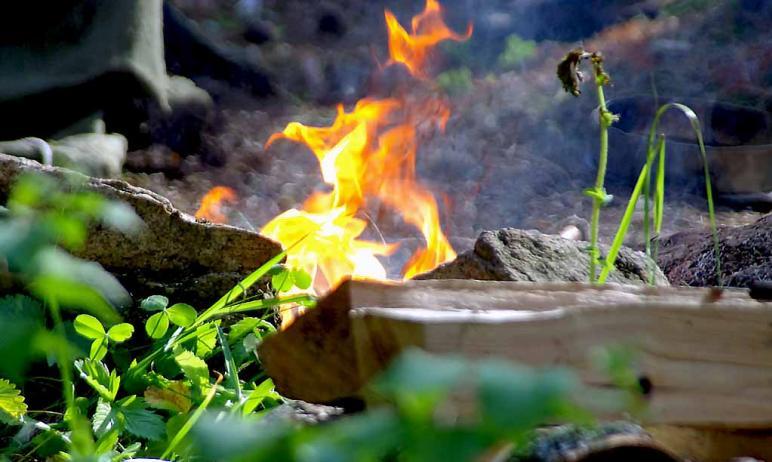 На территории Челябинской области сохраняется пожароопасный сезон даже и после