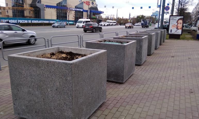 Опыт по высадке растений в кадках Центрального района Челябинска оказался удачным не везде. Некот
