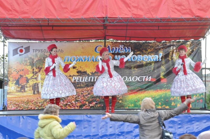 Торжественное мероприятие для старшего поколения поселка Новосинеглазовский по случаю Международн