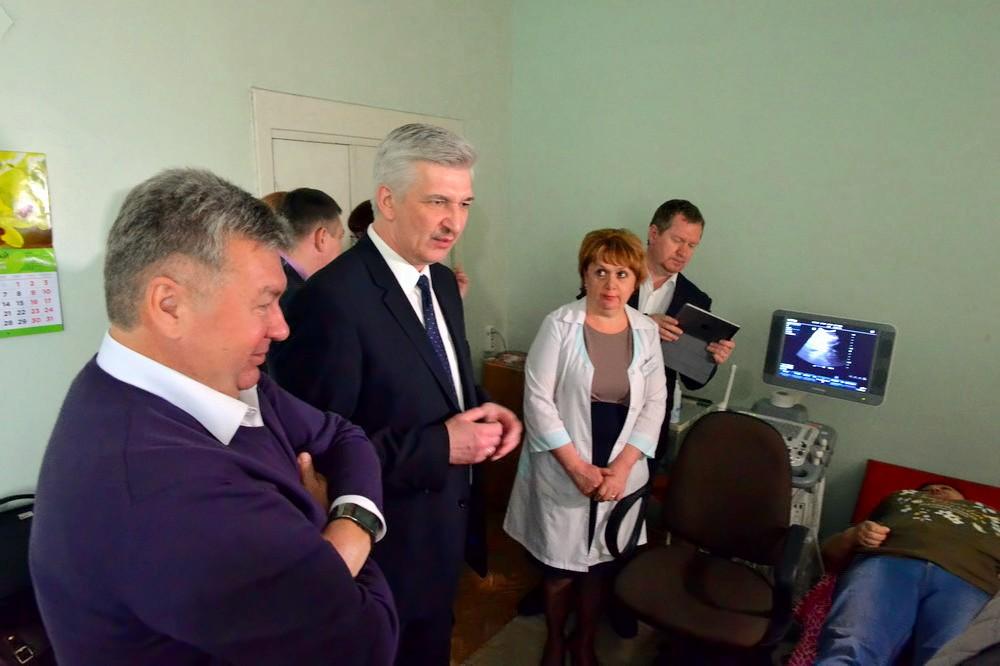 Ультразвуковая диагностическая система «Mindray» стоимостью два миллиона рублей обладает повышенн