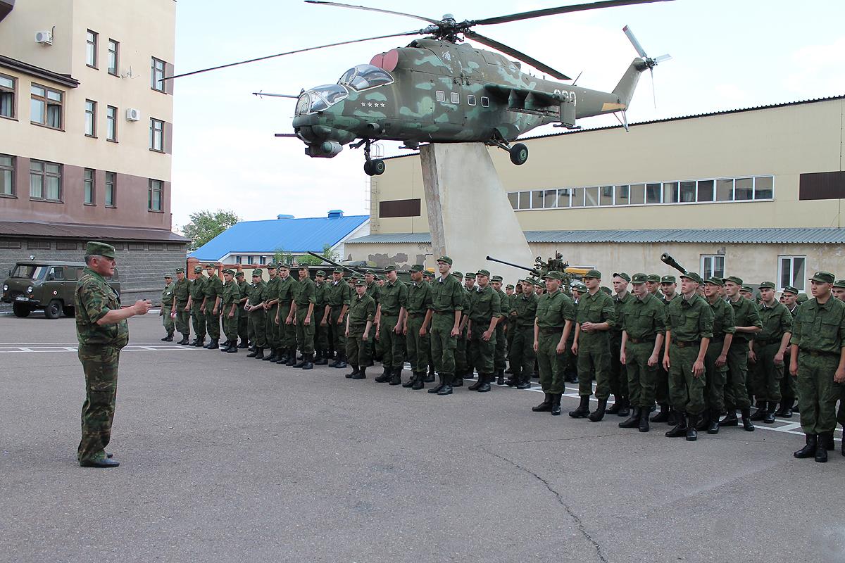 Всего военкоматы ЦВО направят в Вооруженные силы и другие «силовые» ведомства около 80 тысяч чело