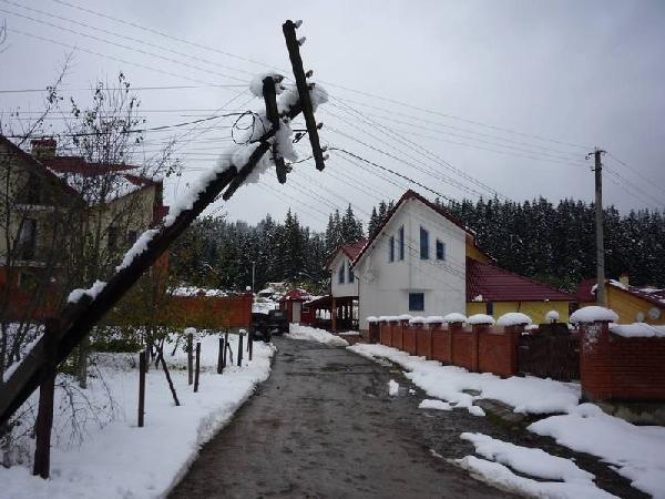 Челябэнерго еще раз напоминает жителям, что в период таяния снега надо быть особо осторожными око